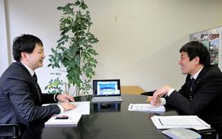 横澤様とウェブラボ担当ディレクター