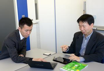 橋谷氏と小沢